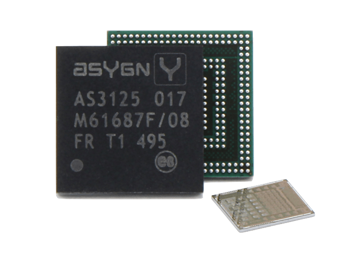 AS3125-IC | Chip Standalone ICs as packaged or bare die | Asygn